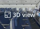 ユナイテッド・エコノミープラスの3Dビューを開く。新しいタブで開きます。